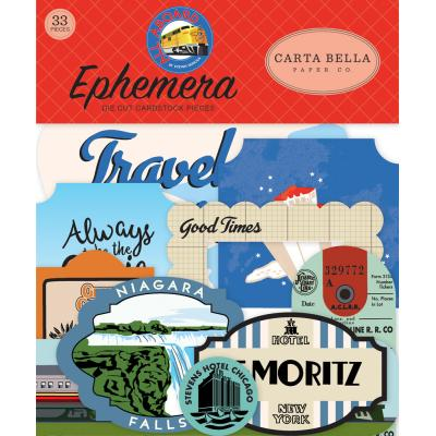 Carta Bella All Aboard - Ephemera