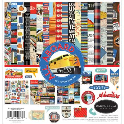 Carta Bella All Aboard - Collection Kit