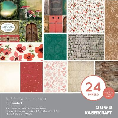 Kaisercraft Enchanted - Paper Pad