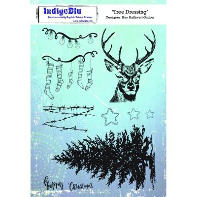 IndigoBlu Rubber Stamp A5 - Tree Dressing