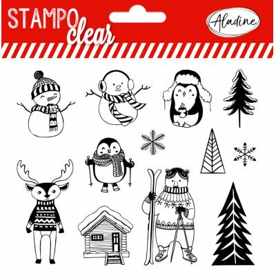 Aladine Clear Stamps - Clear Stamps Christmas