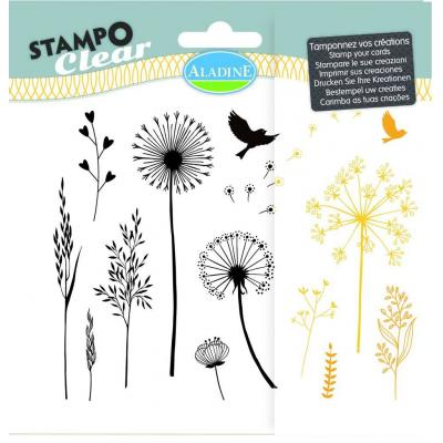 Aladine Clear Stamps - Gramines