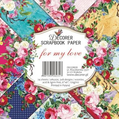 Decorer Paper Pack -  For my Love