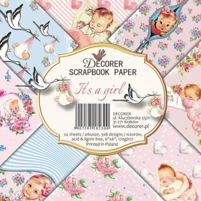Decorer Paper Pack - It's a Girl