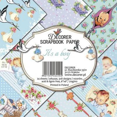 Decorer Paper Pack -  It's a Boy