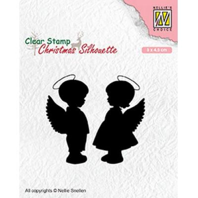 Nellies Choice Clear Stamps - Engel
