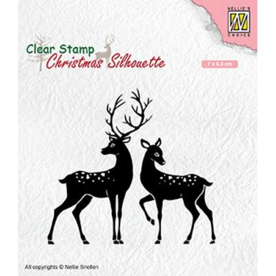 Nellies Choice Clear Stamps - Hirsch