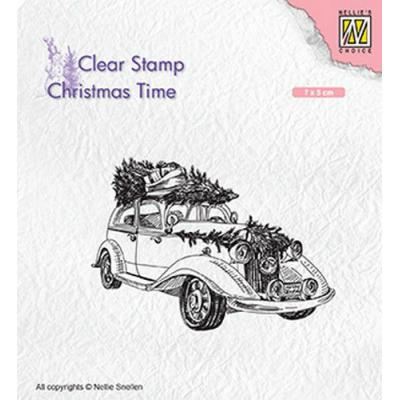 Nellies Choice Clear Stamps - Weihnachtsbaum