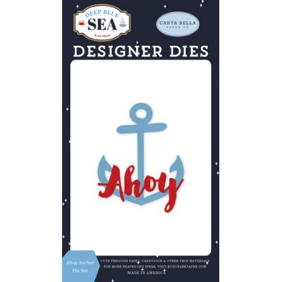 Carta Bella Deep Blue Sea Stanzschablonen - Ahoy Anchor