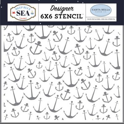 Carta Bella Deep Blue Sea - Nautical Anchors