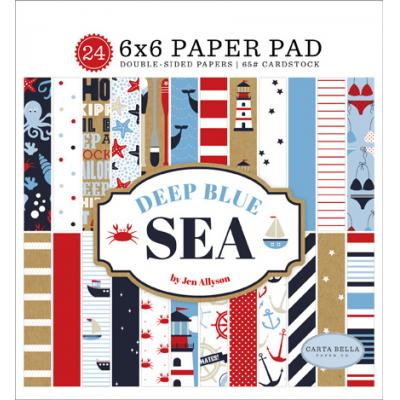 Carta Bella Deep Blue Sea - Paper Pad