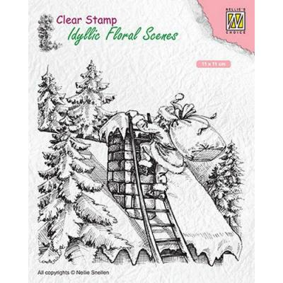 Nellies Choice Clear Stamp - Weihnachtsmann