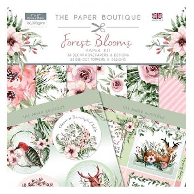 The Paper Boutique Forest Blooms - Paper Kit