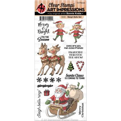 Art Impressions - Clear Stamps - Sleigh Bells