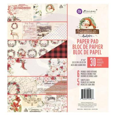 Prima Marketing - Paper Pad - Christmas In The Country