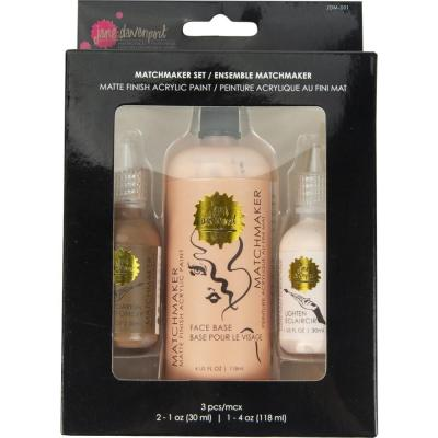 Jane Davenport Matchmaker Set - Matte Finish Acrylic Paint
