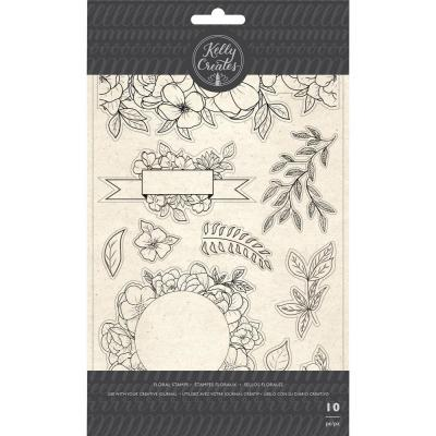 Kelly Creates - Clear Stamps - Florals