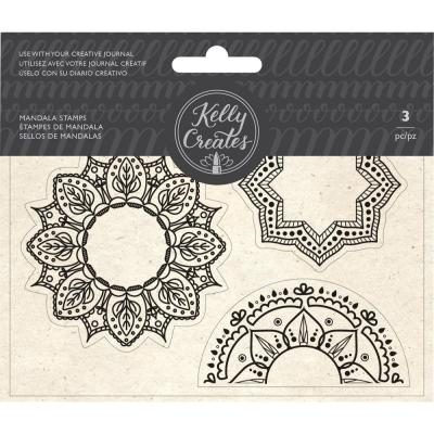 Kelly Creates - Clear Stamps - Mandala