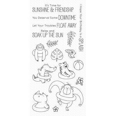 My Favorite Things Clear Stamps - Sunshine & Friendship