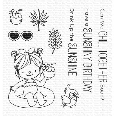 My Favorite Things Clear Stamps - Drink Up the Sunshine