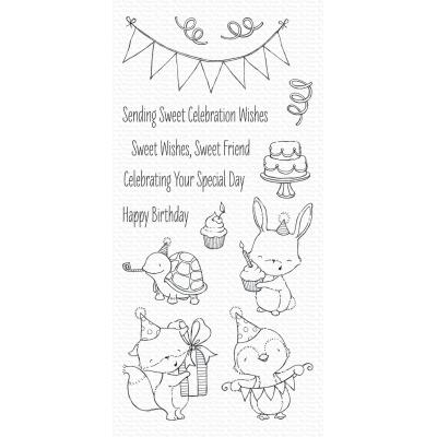 My Favorite Things Clear Stamps - Sending Sweet Celebration Wishes