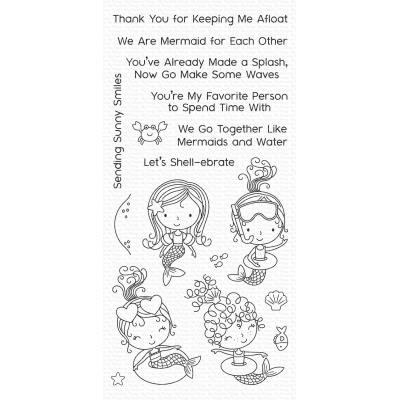My Favorite Things Clear Stamps - Mermaid for Each Other