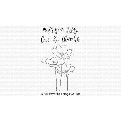 My Favorite Things Clear Stamps - Flowers in Bloom