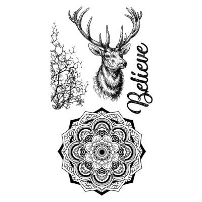 Stamperia Rubber Stamps - Cosmos Deer