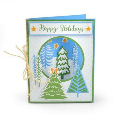 Sizzix - Stempel & Stanzschablonen - Winter Trees