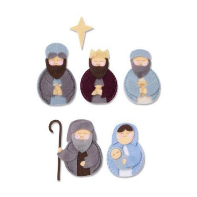 Sizzix - BigZ Die L Stanzschablonen - Sweet Nativity