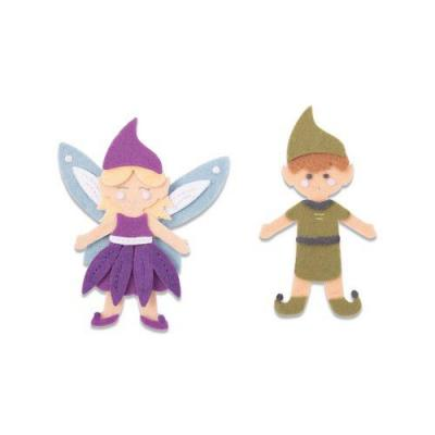 Sizzix - BigZ Die L Stanzschablonen - Elf and Fairy