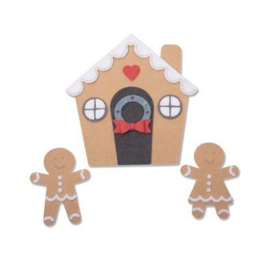 Sizzix - Bigz Plus Stanzschablonen - Gingerbread House