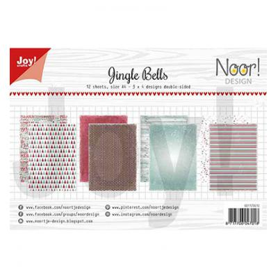 JoyCrafts Designpapier - Jingle Bells