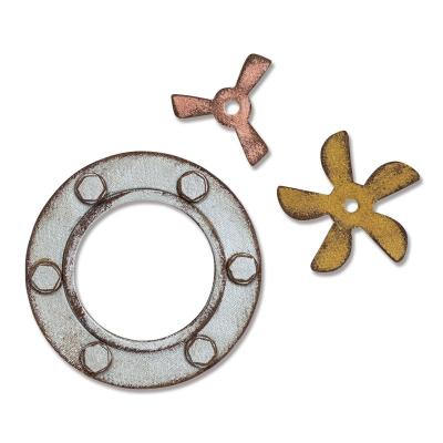 Sizzix - BigZ Stanzschablonen - Steampunk Parts