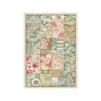 Stamperia Rice Paper - Patchwork