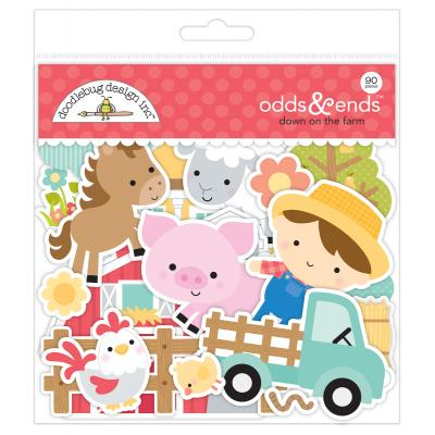 Doodlebug Down on the Farm Die Cuts - Odds & Ends