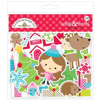 Doodlebugs Christmas Town - Odds & Ends