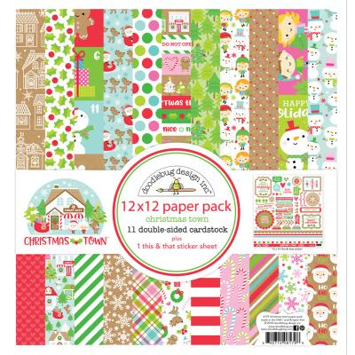 Doodlebugs Christmas Town - Paper Pack