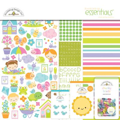 Doodlebugs Simply Spring - Essentials Kit