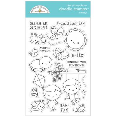 Doodlebugs Doodle Stamps - Simply Spring - Oh Boy!