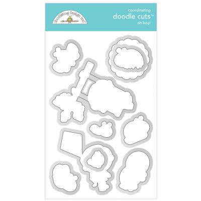 Doodlebugs Doodle Cuts - Simply Spring - Oh Boy!