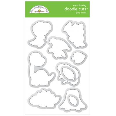 Doodlebugs Doodle Cuts - So Much Pun - Dino-Mite!