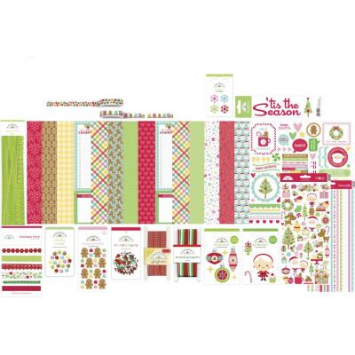 Doodlebug Christmas Magic Scrapbook Set - Value Bundle