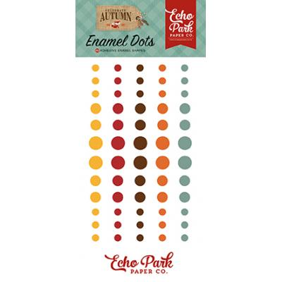 Echo Park Celebrate Autumn - Enamel Dots
