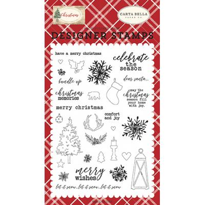 Carta Bella Clear Stamps Christmas - Christmas Memories