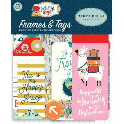 Carta Bella Pack Your Bags - Frames & Tags
