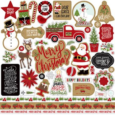 Echo Park Celebrate Christmas - Stickerbogen