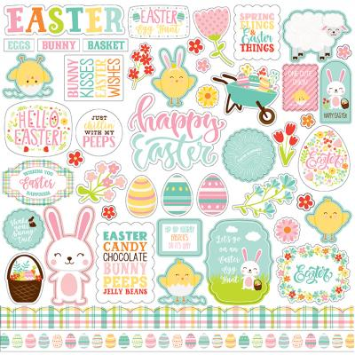 Echo Park Easter Wishes - Easter Wishes Element Sticker