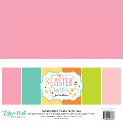 Echo Park Easter Wishes - Easter Wishes Solids Kit