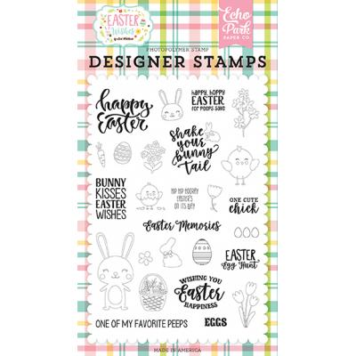 Echo Park Clear Stamps Easter Wishes - Easter Memories